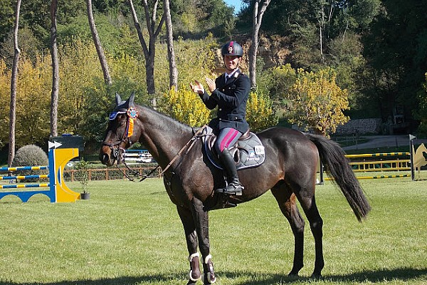 RUBIS de PRERE WINNER of  THE ITALIAN CHAMPIONSHIP 2017